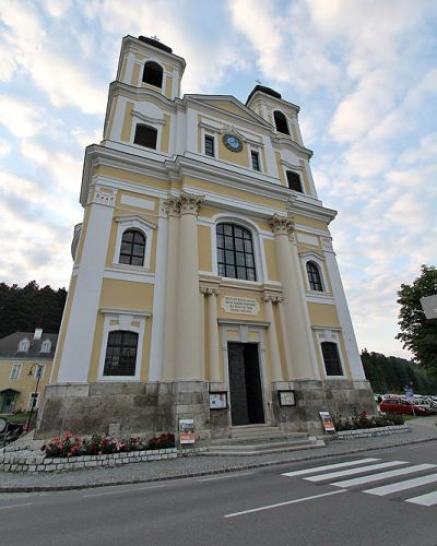 Church in Altenmarkt/Triesting